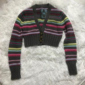 Old Navy Striped Girls Sweater